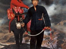 油画欣赏:王沂东《沂蒙山新娘》油画作品