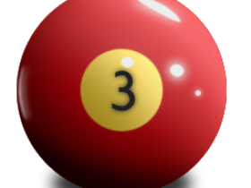 PNG图标:3D台球PNG图标256X256