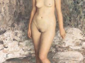 油画欣赏:中国写实派人物人体作品【未成年请勿观摩】