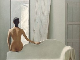人体油画欣赏之任亚胜的人物人体油画作品
