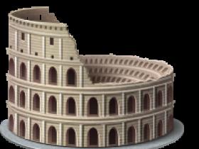 自由女神大本钟斗兽场等世界标志性建筑著名旅游景点PNG图标