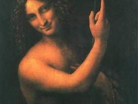 著名画家达・芬奇作品集10P人物油画作品